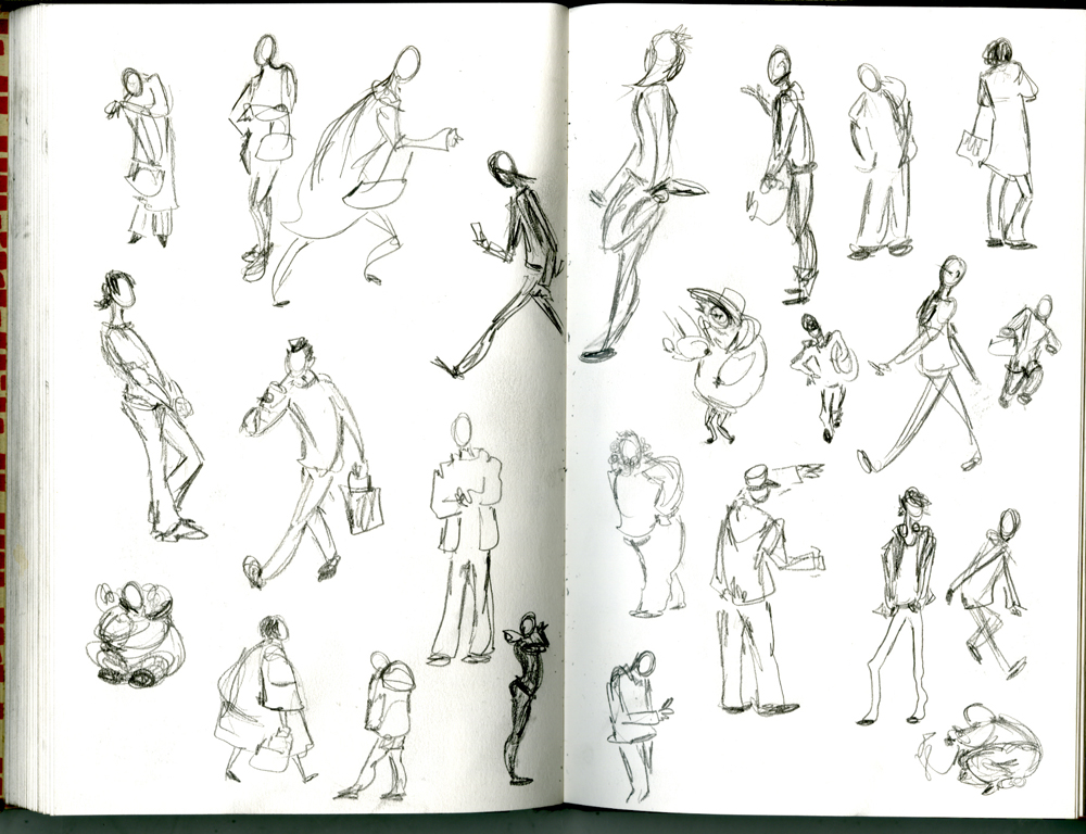Drawn hand gesture Really feeling & some of