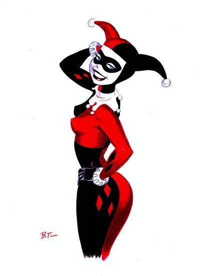 Drawn harley quinn 90's Harley 285 in to best