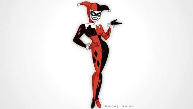 Drawn harley quinn 90's You Characters 10 find 2D