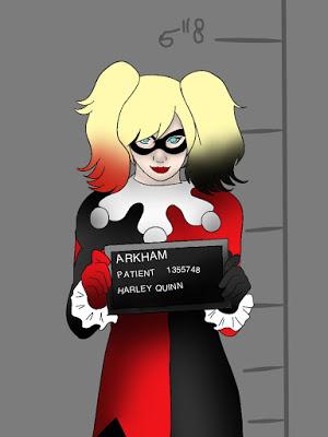 Drawn harley quinn good morning Love Harley Quinn and good