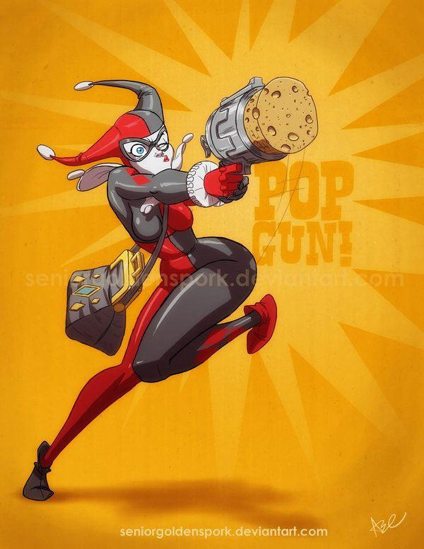 Drawn harley quinn gun Best and images more Pinterest