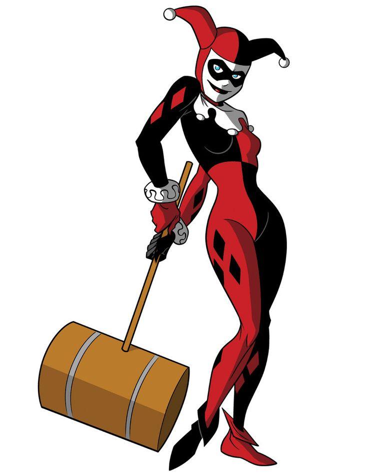 Drawn harley quinn king queen jester Harley best Quinn Harley 45
