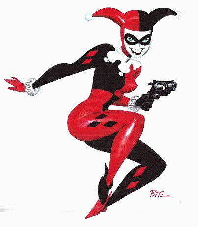 Drawn harley quinn original Most Batman: his is by