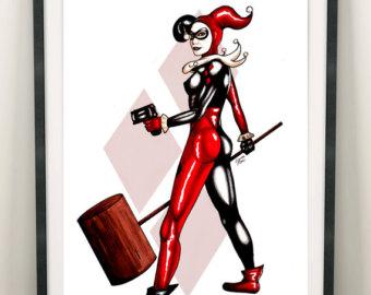 Drawn harley quinn original Drawing drawing Original quinn Harley
