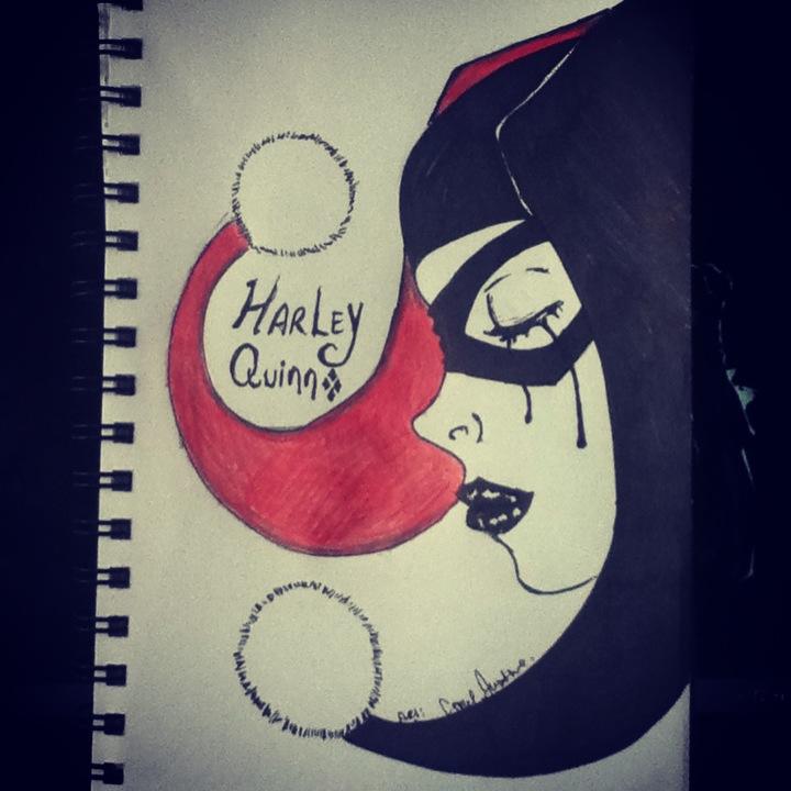 Drawn harley quinn sad Harley Harley Catnap2020 by Quinn!!