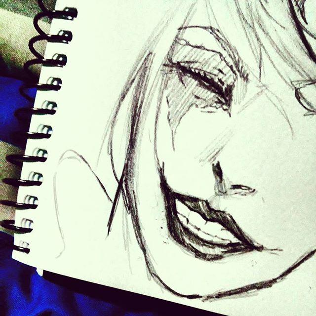 Drawn harley quinn sketch Harley #drawing quinn Sketch #harley