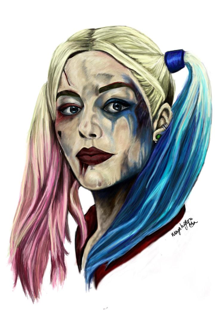 Drawn harley quinn sketch By Sqaud jaegermayaster Suicide Harley