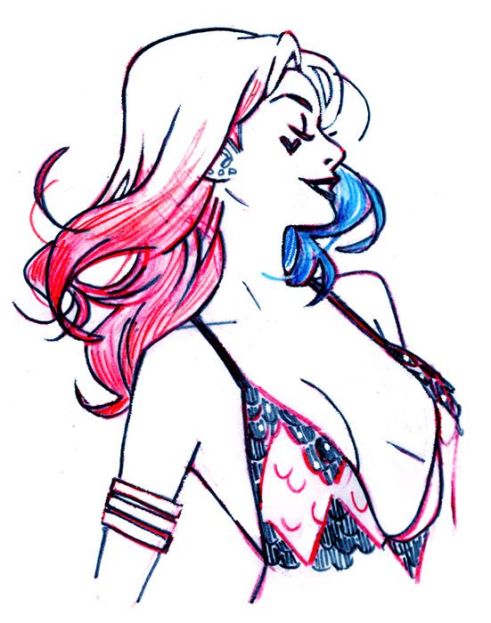 Drawn harley quinn time On Quinn this Harley 5779