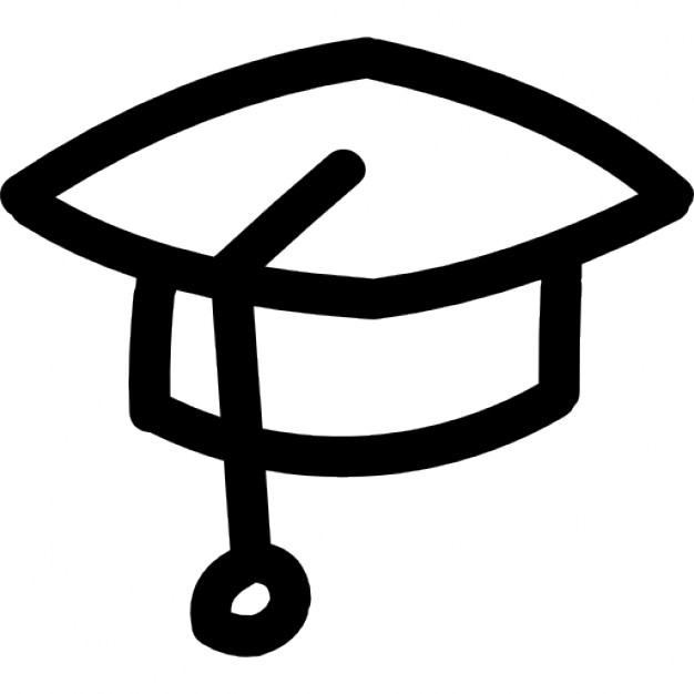 Drawn hat Hand hat Free hat drawn