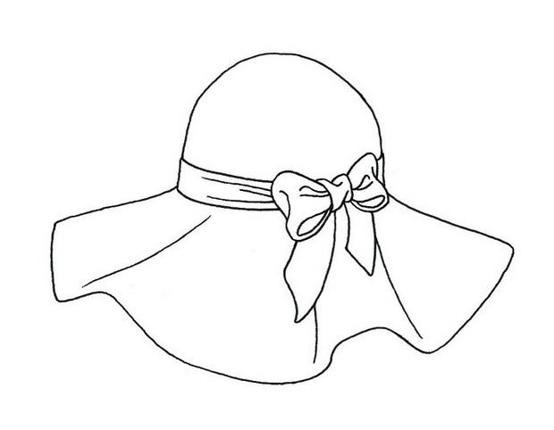 Drawn hat Draw Step Steps Floppy a