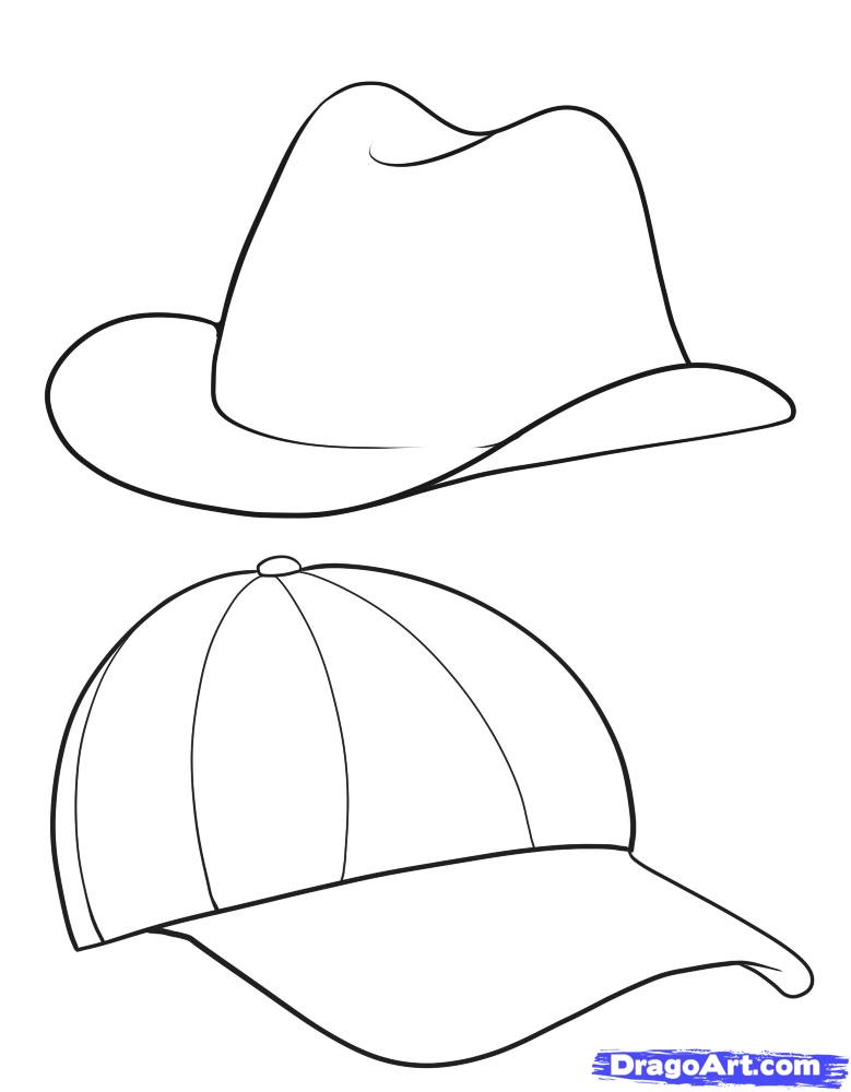 Drawn hat Draw  hats Fashion Step