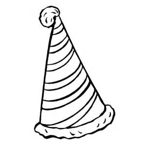 Drawn hat birthday hat Hats hat Coloring Hats Colouring