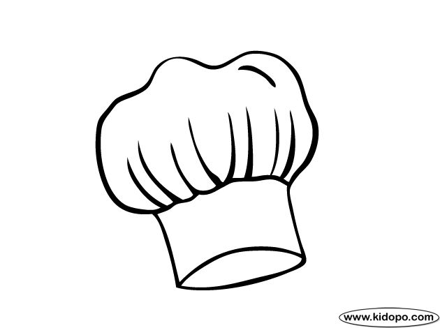 Drawn hat chef Printable images best Pinterest chef