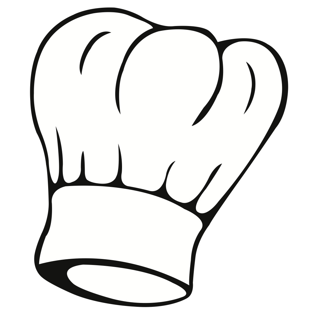 Drawn hat chef SVG SVG  Chef Digi
