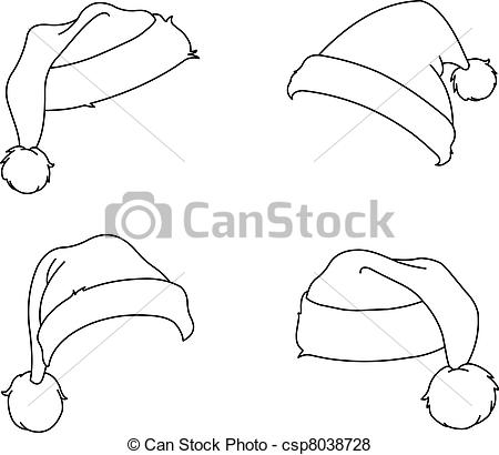 Drawn santa hat new year Santa Hat  Drawing