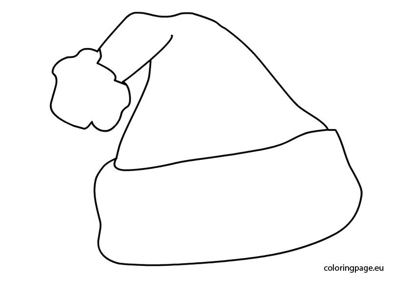 Drawn hat christmas hat Santa 3696 Claus Drawing Hat