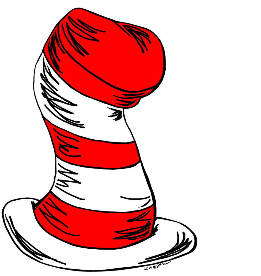 Book clipart the cat in hat Pinterest The In The hat