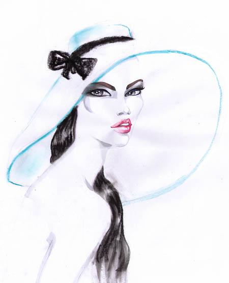 Drawn crown With Fashion a Draw I