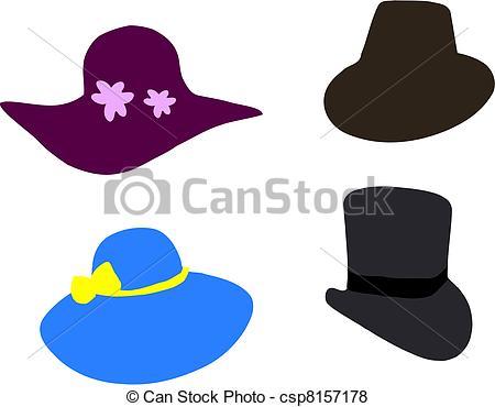Drawn hat Cool Vector  hats fancy