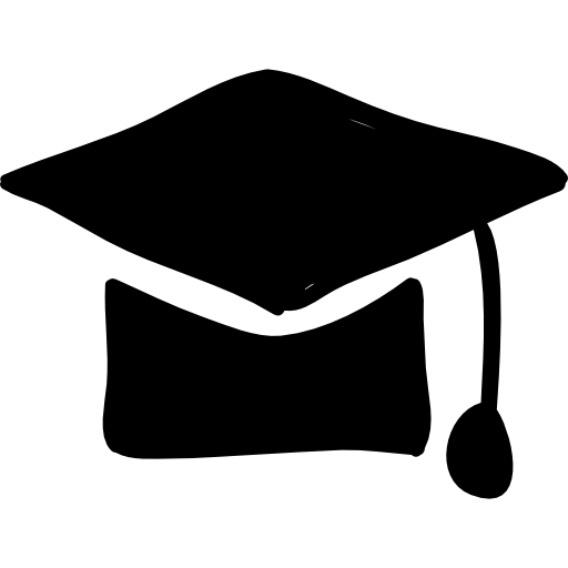 Drawn hat grad #7