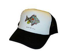 Drawn hat trucker Wild front Hat BAD Ward