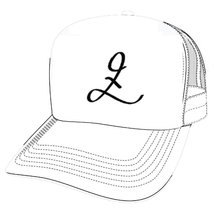 Drawn hat trucker  Trucker & 47th Lexz
