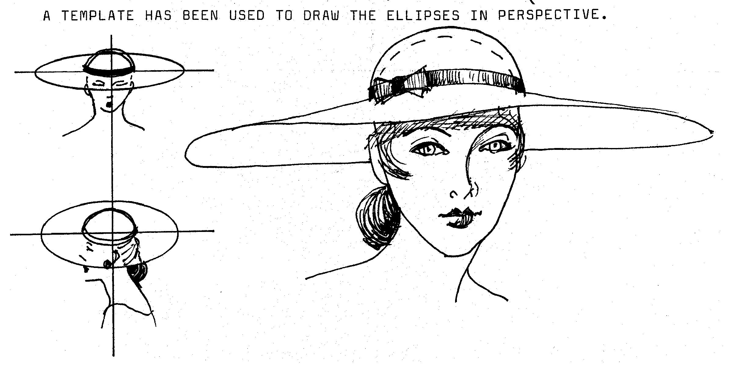 Drawn hat womens hat Justine I draw Limpus Hats