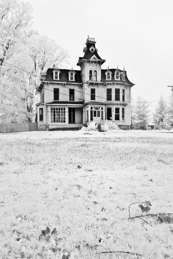 Drawn haunted house abandoned house Gorgeous House Bruce a on