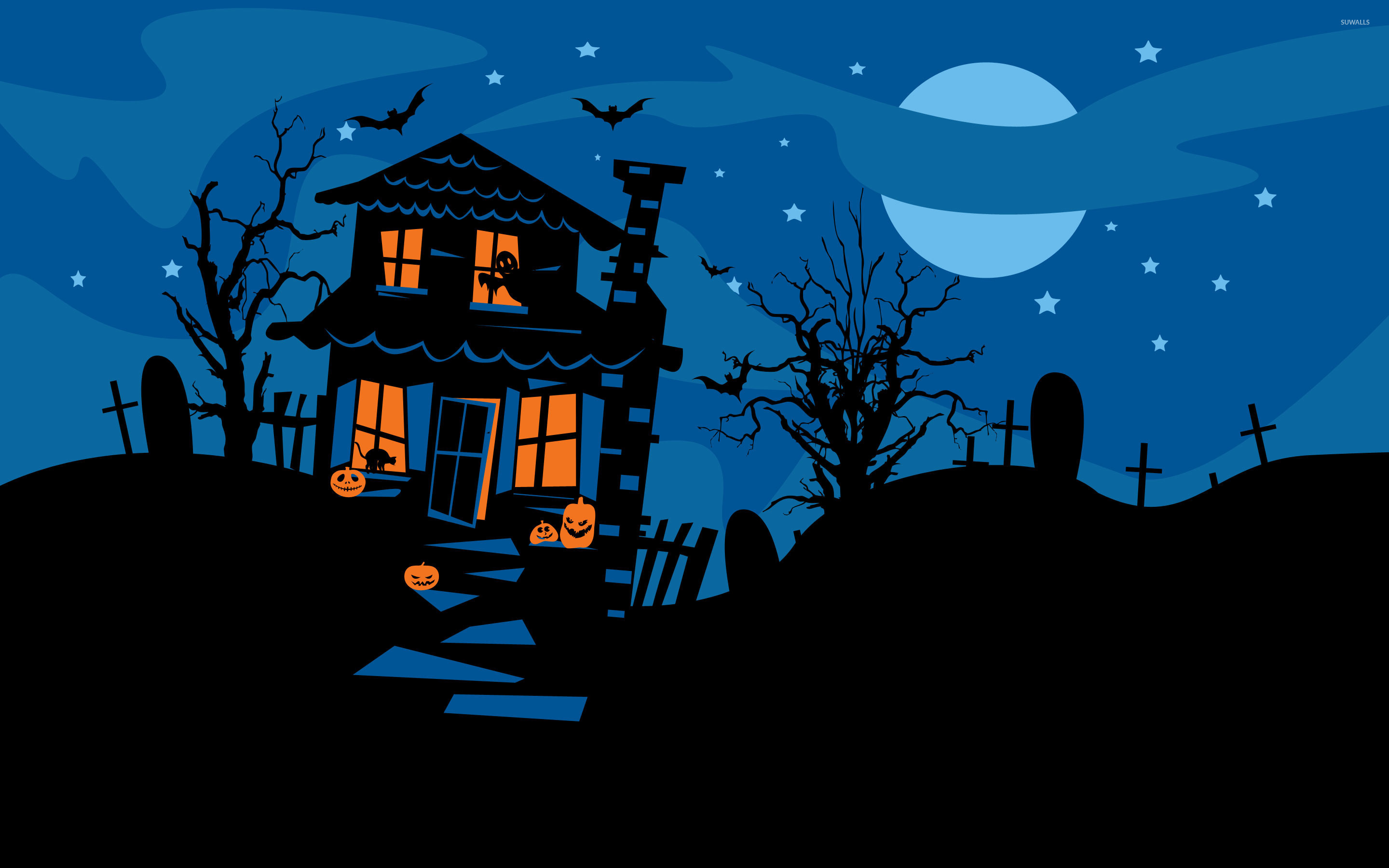 Drawn haunted house animated CP Photos JSRJSR NM House