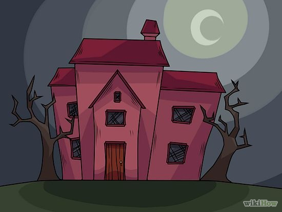 Drawn haunted house animated A House Draw Draw Haunted