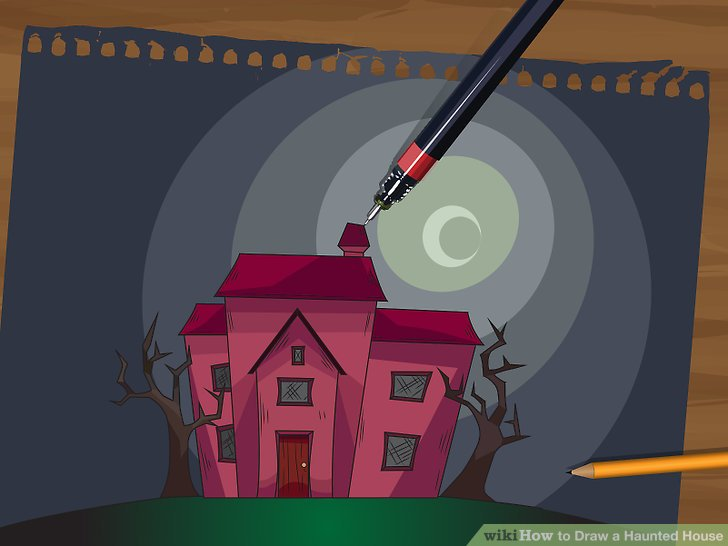 Drawn haunted house animated House a Image Pictures) Haunted