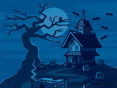 Drawn haunted house animated Images haunted Images houses animated