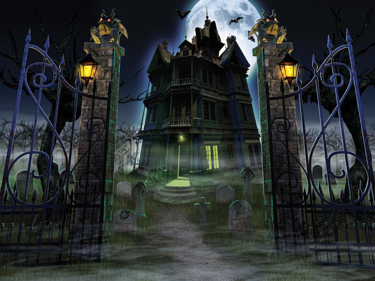Drawn haunted house big house The competition draw Pens Offers