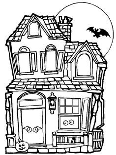 Drawn haunted house classic Search haunted Find Pin ideias