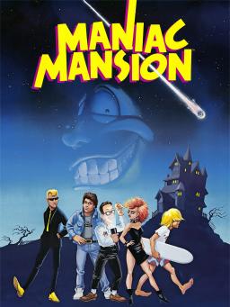 Drawn haunted house classic  Mansion Maniac Wikipedia