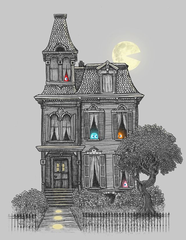 Drawn haunted house classic Images for Haunted the Fan