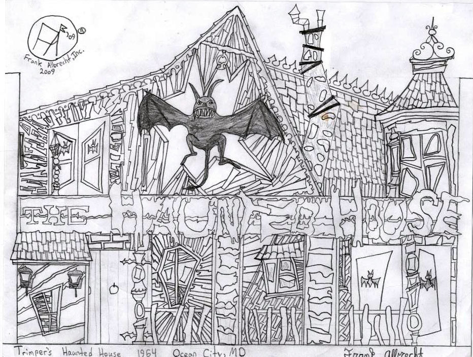 Drawn haunted house creepy house Drawing An of Haunted forum
