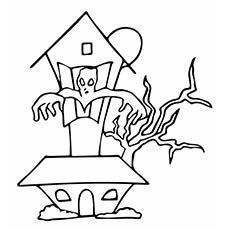 Drawn haunted house geometric 25 for Top free House