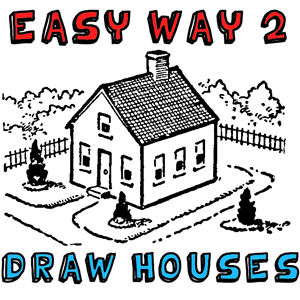 Drawn haunted house geometric With How Step Tutorial Houses
