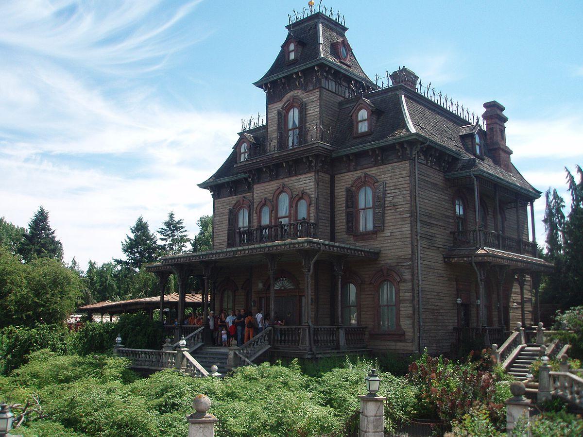 Drawn haunted house haus Wikipedia Phantom Manor