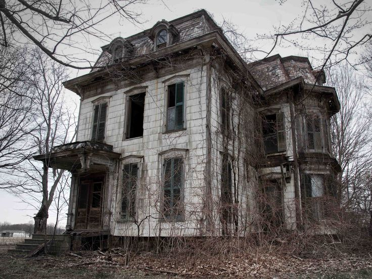 Drawn haunted house haus Ohio local their suspected Pinterest