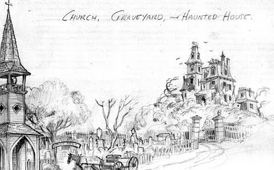 Drawn haunted house ken anderson Via Facts: Passport to Image