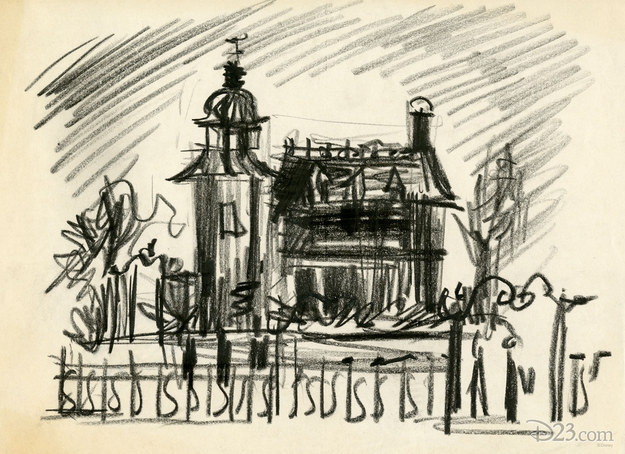 Drawn haunted house ken anderson To concept all art it