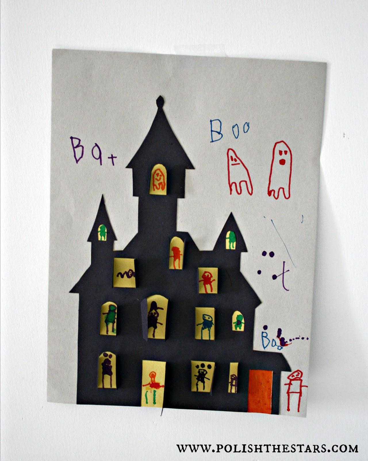 Drawn haunted house kid Jpg 600 jpg 1 crafts