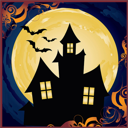 Drawn haunted house kid Halloween Drawing Halloween Haunted Festival