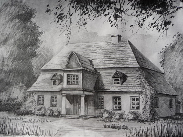 Drawn haunted house pakka Inspiration House 10+ for Pencil