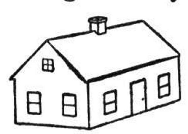Drawn haunted house pakka Printable houses Printable color to