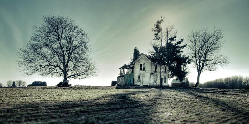 Drawn haunted house realistic Them Haunted Real Haunted Houses