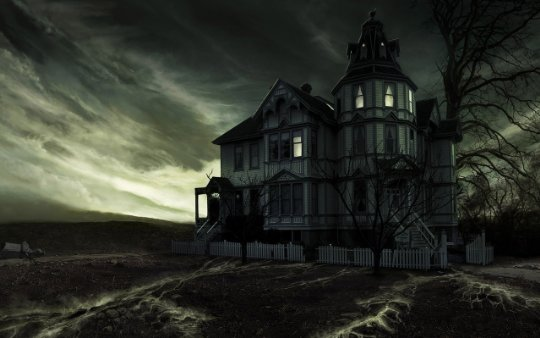 Drawn haunted house realistic  House Hill 3 The