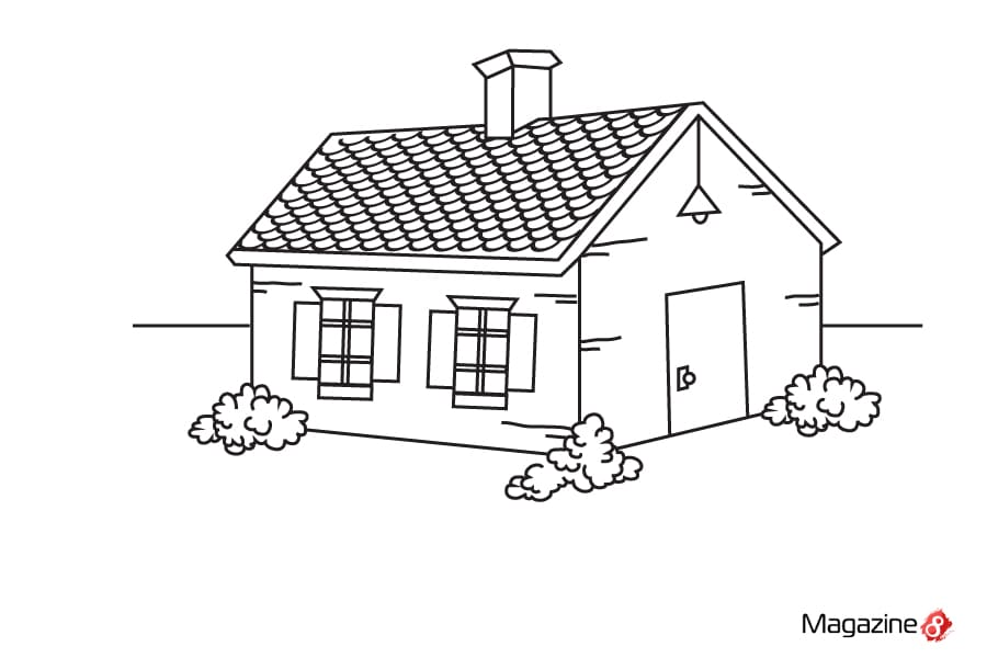 Drawn haunted house step by step Pictures A Step Step sciencewikis